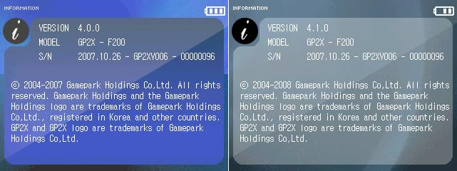 FW 4.0 vs. 4.1 - informace