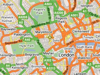 Podpora Google map