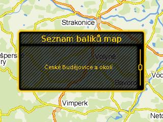 Načtený balík map